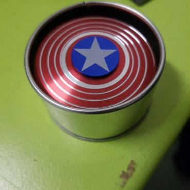 Captain America Spin