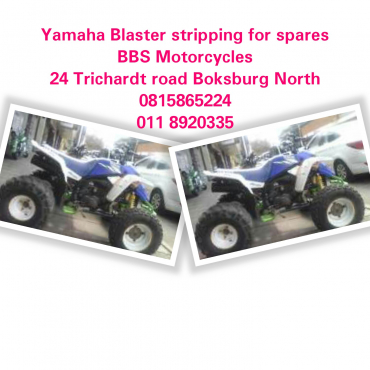 Yamaha Blaster 200 stripping for spares