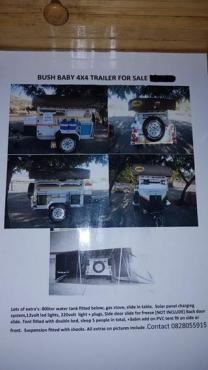Bush Baby Camping trailer 4x4