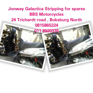 Jonway Galactica scooter stripping for spares
