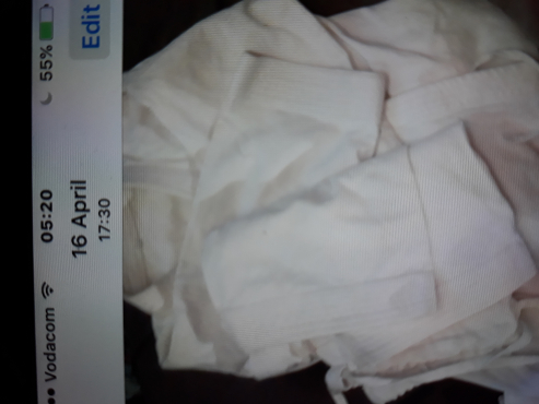 Karate adult used Gi excellent condition size 4.