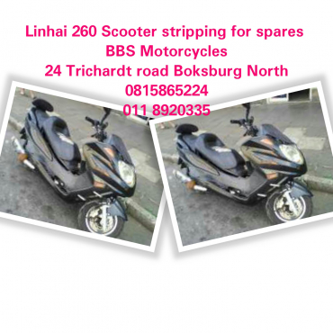 Linhai 260 Scooter stripping for spares