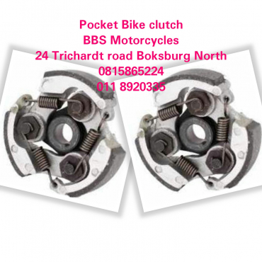 Pocket bike clutch