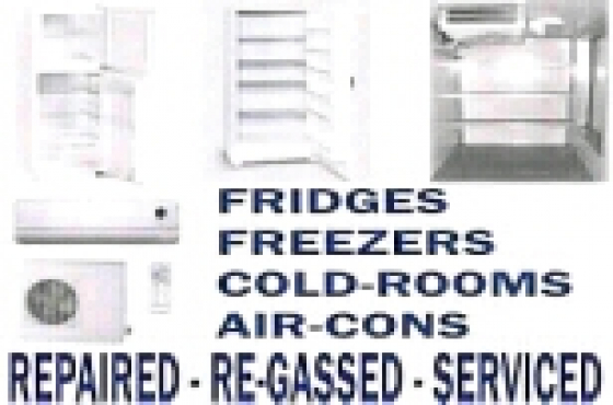 fridge repair and regas onsite