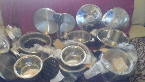 7 Piece pots