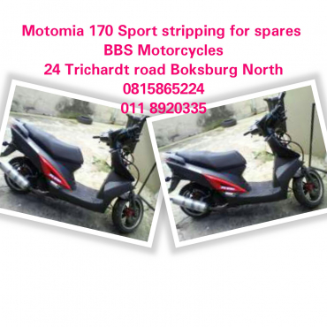 Motomia 170 Sport stripping for spares