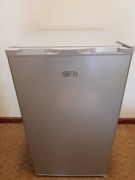 Silver Defy bar fridge