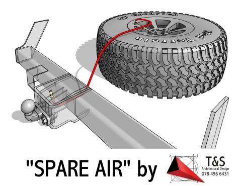 BAKKIE SPARE WHEEL, ENSURING THAT YOUR UNDER VEHICLE SPARE IS ALWAYS READY FOR USE