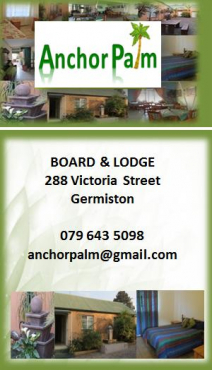 Accommodation in Germiston from January 2018