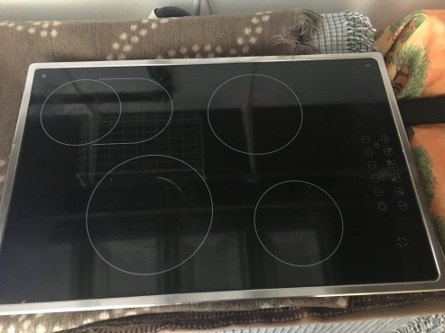 Hob, Electric Glass Touch Panel Cooker Hob