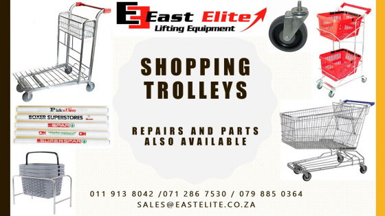 Shopping Trolleys / Repairs and parts available