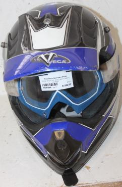 Blue vega motorbike