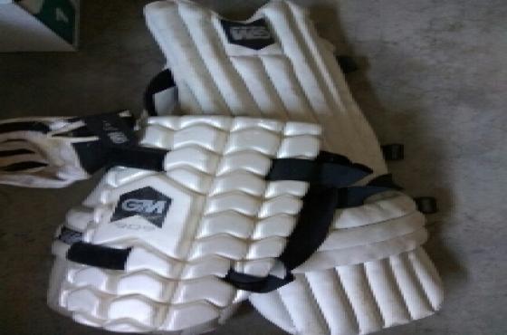 GM Cricket pads & gloves
