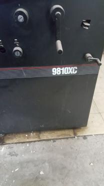 Printers x 2: AB Dick 9840 and AB Dick 9810XC