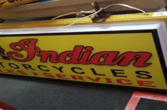 Antique indian motor