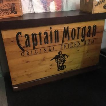 Captain Morgan bar