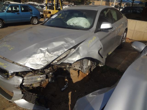 accident/salvage bmw