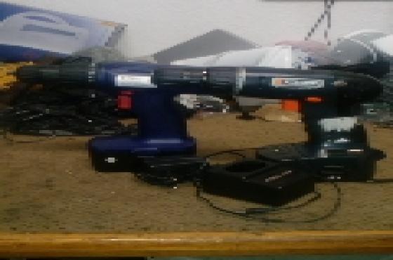 2 x 18v Cordless Drills R685