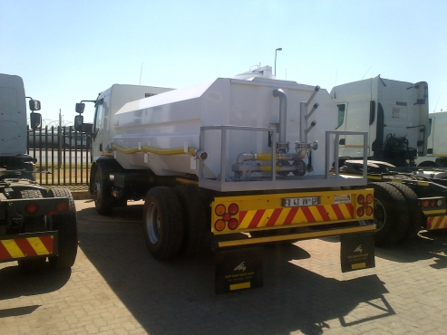 Brilliant new water tanker installations