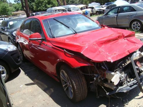 salvage/accident bmw