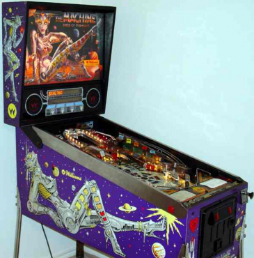 The Bride of Pinbot pinball machine