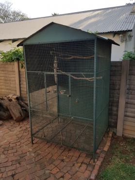 Bird cage outdoor