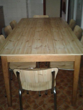 8 seater kitchen table set