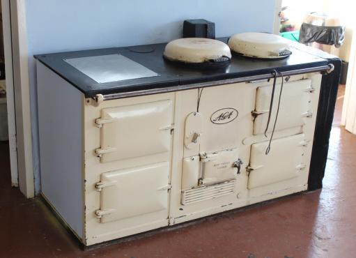 Aga Traditional 4 Antracite stove