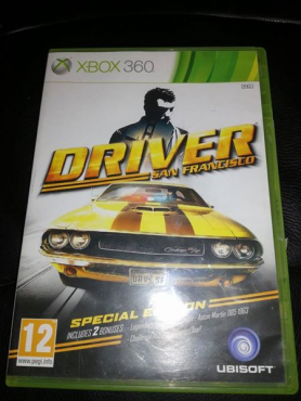 Xbox 360 game DRIVER