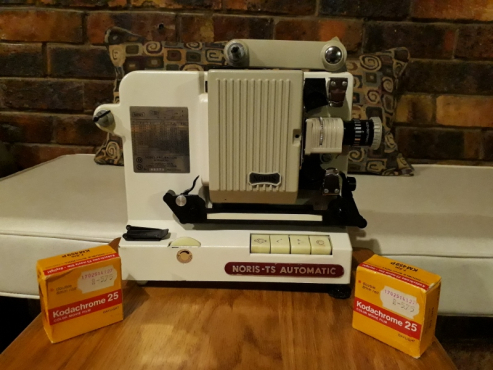 8mm Norris TS-Automatic Projector and Film Editor