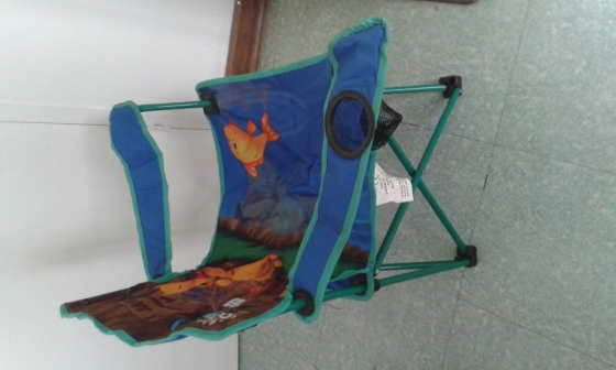 2 sleeping bags, 1 kids Winnie the pooh camp chair