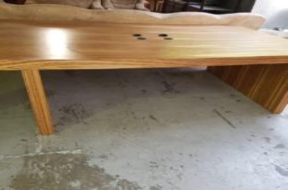 Large solid work desk