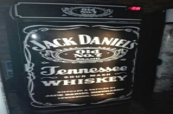 Jack Daniels bar fridge