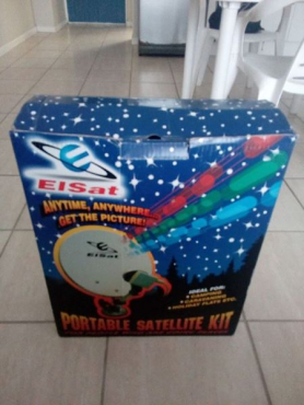 Portable satellite kit