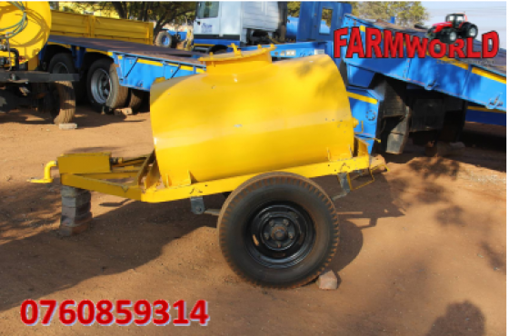 S2539 Pre-Owned Trailer 1000 Litre 2 Wheel Trailer