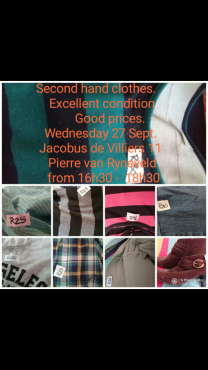 Adult and children clothes