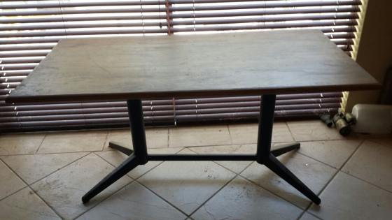 Table for sale R350. Measurements 150 cm length 74 cm width height 71 cm