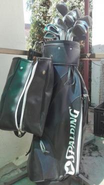 Spalding golf stel, volstel met ekstra
