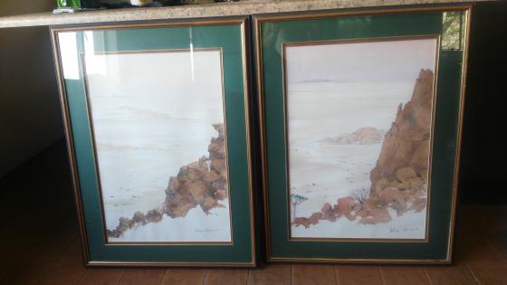 Two Original Nicholas Galloway Paintings for sale
