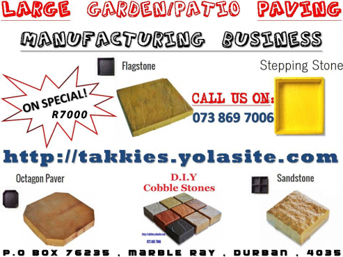 Rock Face Block Business BE YOUR OWN BOSS R7000