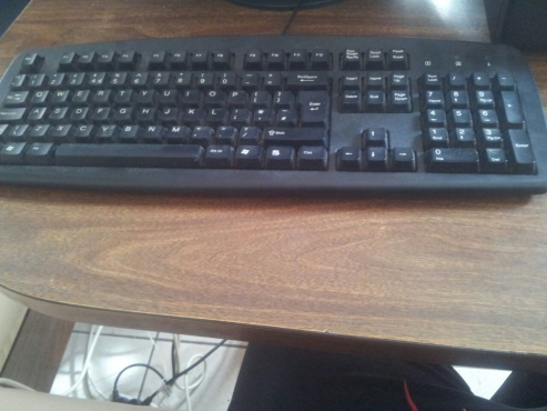 Keyboard with mouse going for R 150.Price is non negotiable
