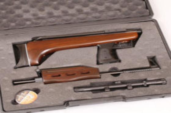Air rifle + Case qB-