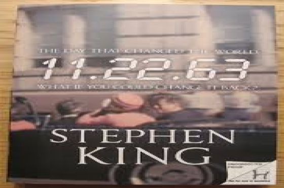 Stephen King 11.22.63 book for R50