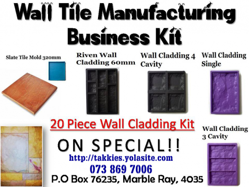 MAKE MONEY! BUSINESS Block & Paving Kits R7000