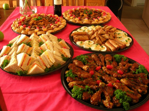 High Quality Food Catering (PLATTERS)