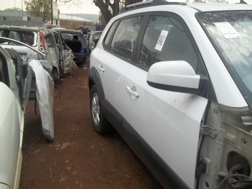 Hyundai Tucson doors