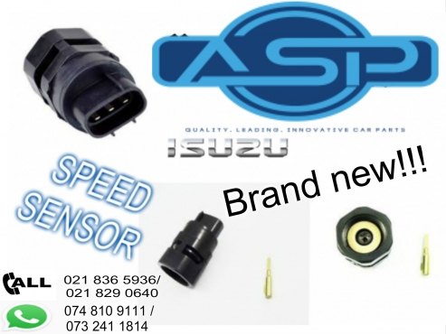 BRAND NEW ISUZU SPEED SENSORS HAVE JUST LANDED NOW!!!