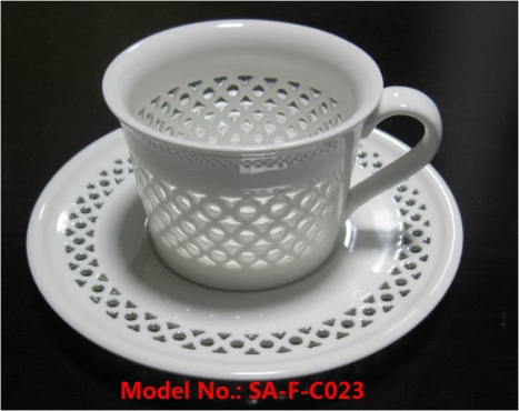 Porcelain Coffee and Tea Cup for Wholesale