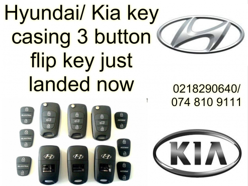 SAVE YOUR MONEY TODAY -  Hyundai/ Kia key casings 3 button flip key