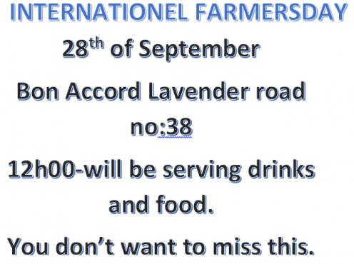 INTERNATIONAL FARMERSDAY